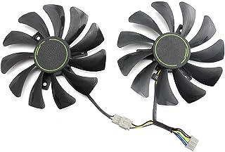 Yintiod HA9010H12F-Z - Ventilador refrigerador para MSI GTX 1060 OC 6G GTX 960 (85 mm, 4 Pines)
