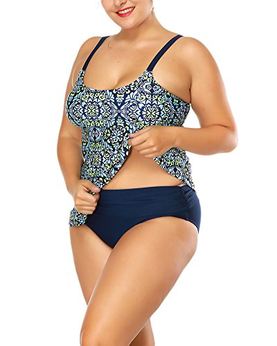 Swimwear Mujer Traje De Baño 2 Piezas Ropa De Tankinis