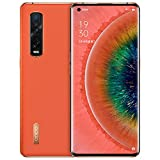 Original Oppo Find X2 Pro 12G+256GB 5G Mobile Phone Snapdragon 865 Android 10 6.7' OLED 120HZ 48.0MP 65W Charger Global Warranty Cellphone by-(Real Star Technology) (Orange (Vegan Leather) 12+256gb)