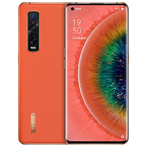 "Original Oppo Find X2 Pro 12G+256GB 5G Mobile Phone Snapdragon 865 Android 10 6.7"" OLED 120HZ 48.0MP 65W Charger Global Warranty Cellphone by-(Real Star Technology) (Orange (Vegan Leather) 12+256gb)"
