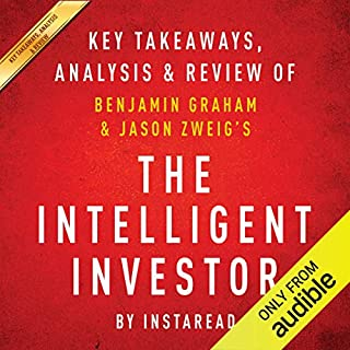 The Intelligent Investor: The Definitive Book on Value Investing, by Benjamin Graham and Jason Zweig cover art