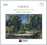 String Quartets 1 & 2 (2001-03-20)