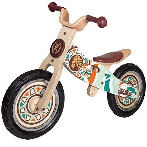 WOOMAX - Bicicleta sin pedales, madera