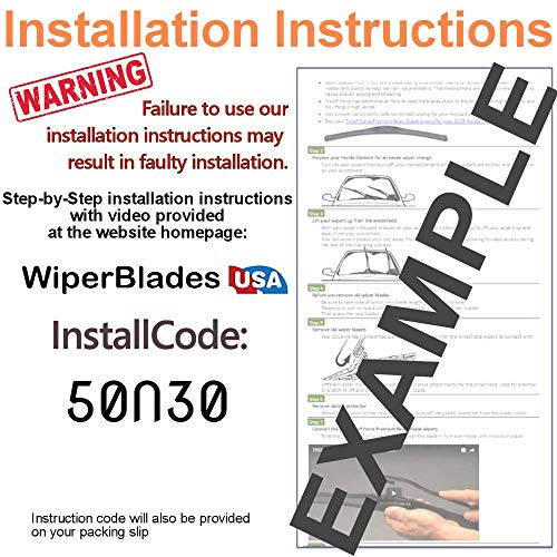 Wiper Blades Set for 2004 Ford Thunderbird Driver/Pass Trico Steel Wipers Set of 2 Bundled with MicroFiber Interior Car Cloth