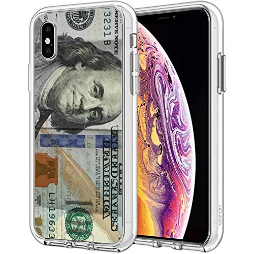 Compatible with iPhone Case Transparent Soft TPU Flexible Corver Case XR Cover Money - One Hundred Dollar Bill If You Like Purchase Try A Cel