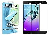 SDTEK Protection écran pour Samsung Galaxy A5 2016 Verre Trempé Résistant aux éraflures Glass Screen Protector Vitre Tempered Film Protecteur pour Samsung Galaxy A5 2016