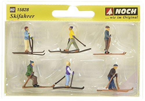 Noch 15828 - Skifahrer Figuren