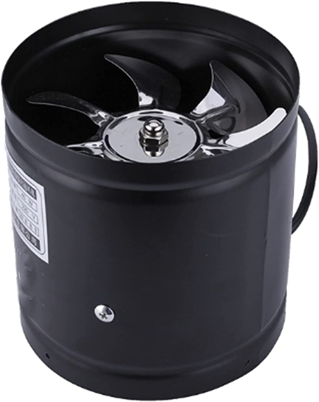 Ventilador de escape de salida de aire Ventilador de aire de ventilador de aire del conducto en línea de 4 pulgadas Ventilación de la tubería de metal Extractor del extractor del extractor del extract