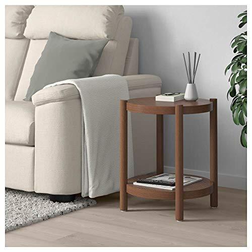 LISTERBY - Mesa auxiliar, color marrón