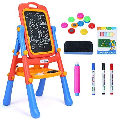 Juguetes para Bebés FEI Deluxe Standing Art Easel Blue Pink. Temprano...