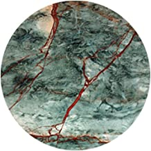 CoasterStone NC23 Absorbent Coasters, 4-1/4-Inch,Green and Red Marble, Set of 4
