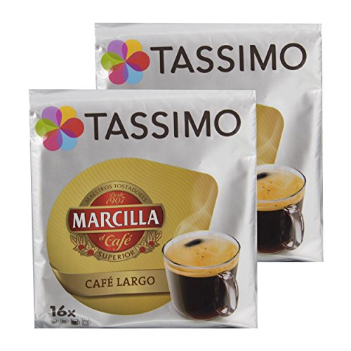 Tassimo Coffee, Gema Recommended Roaster Marcilla Caf? Largo, Coffee, Coffee, 32?T Disc