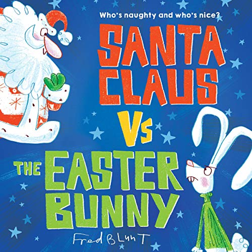 Page de couverture de Santa Claus vs. the Easter Bunny