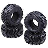 "Hobbypark 2.2"" Tires with Foam Inserts Beadlock Wheel Rims Tyres for 1/10 RC"