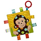Taggies Crinkle Me Baby Toy, Dazzle Dots Monkey