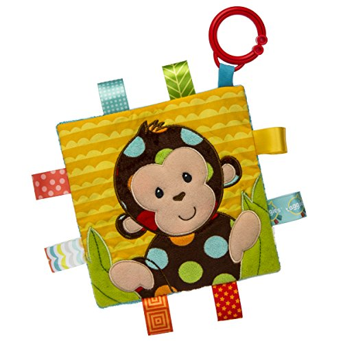 Best Bargain Taggies Crinkle Me Baby Toy, Dazzle Dots Monkey