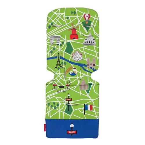 Universal Liner Paris City Map