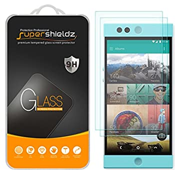 2 Pack  Supershieldz Designed for Nextbit Robin Tempered Glass Screen Protector Anti Scratch Bubble Free