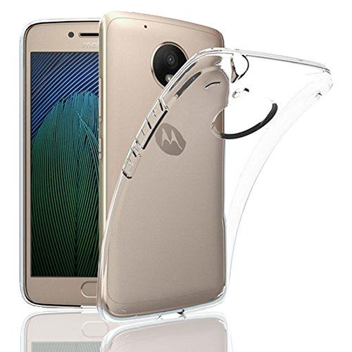Eximmobile Silikon Hülle für Motorola Moto G 2. Generation Handyhülle für hinten Schutzhülle aus hochwertigem TPU Handytasche mit gutem Schutz Cover in transparent Handy Tasche Silikonhülle Etui