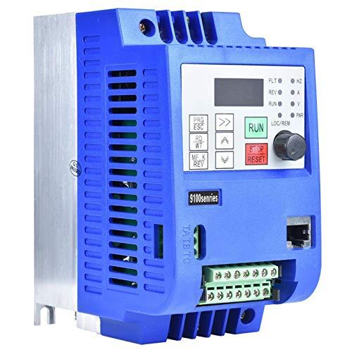 Motor eléctrico, máquina de tubos con velocidad de frecuencia Vfd, protección de seguridad de control de tipo vectorial de voltaje Ac220V 1.5Kw para maquinaria textil de elevación de grúa