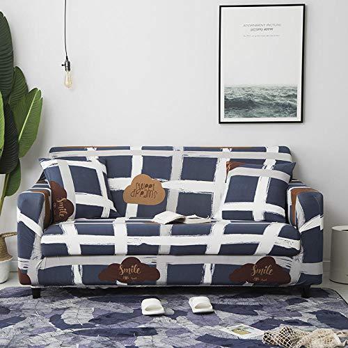 Fundas de sofá elásticas,Funda de sofá elástica, fibra de poliéster elástica spandex 1/2/3/4 sofá de asiento, funda de sofá cubierta de protección para muebles de sala de estar-Color4_90-140cm