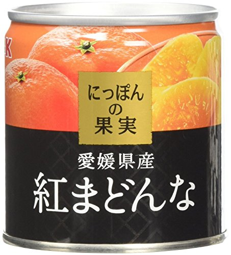 国分 K&K にっぽんの果実 愛媛県産 紅まどんな 缶185g