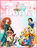 Word Search Book: Word Search Book for Adults and Kids with Disney characters fans