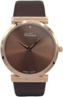 Charisma Analog Leather Watch For Men