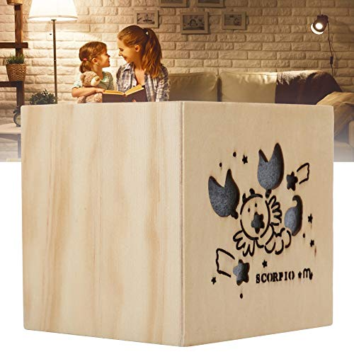 Jacksing Caja de música, Caja de música de Madera Cajas de música navideñas Caja de música de Madera, para niñas y niños