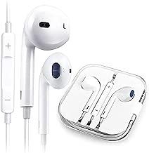 Earbuds/Headphones/Earphones,3.5mm Wired Headphones Noise Isolating Earphones Built-in Microphone &Volume Control Compatible iPhone6s/plus/6/5c/ipad/Samsung/Android/Mp3 MP4