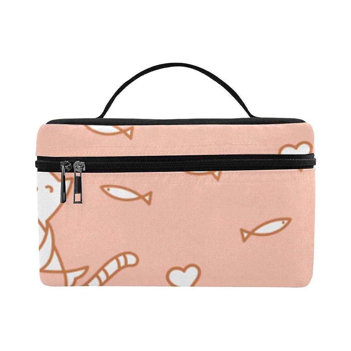 イソギンチャク露骨な仮称CKYHYC メイクボックス すばしこい 猫 コスメ収納 化粧品収納ケース 大容量 収納ボックス 化粧品入れ 化粧バッグ 旅行用 メイクブラシバッグ 化粧箱 持ち運び便利 プロ用