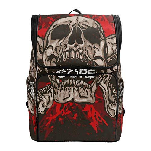 Schädel Hardcore Rucksack Niedliche Rucksack Tasche für Jungen und Mädchen Outdoor Casual Daypack