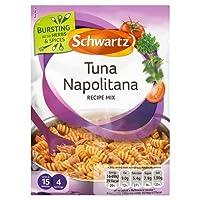 Schwartz Tuna Napolitana Recipe Mix (30g) シュワルツマグロナポリタンのレシピミックス( 30グラム)