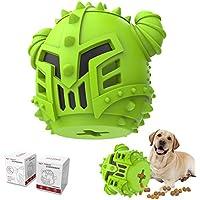 Piffzedo Slow-Feeding Dog Chew Toy (Green)