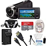 SONY AUTHORIZED DEALER - Includes Full SONY USA WARRANTY 30x Optical / 60x Clear Image Zoom to get closer to the action | 26.8mm wide angle ZEISS Lens | 50Mbps XAVC S 1920 x 1080 at 60P, AVCHD and MP4 codecs | Automatically creates highlight video in...