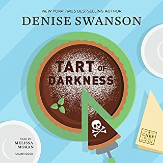 Tart of Darkness     The Chef-to-Go Mysteries, Book 1              By:                                                                                                                                 Denise Swanson                               Narrated by:                                                                                                                                 Melissa Moran                      Length: 7 hrs and 38 mins     197 ratings     Overall 4.1