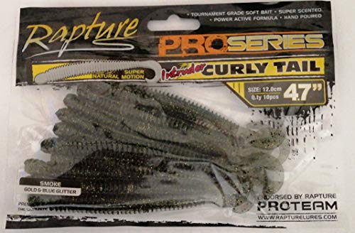 Rapture Intruder Cruly Tail 4.7' 12 cm Couleur Smoke...