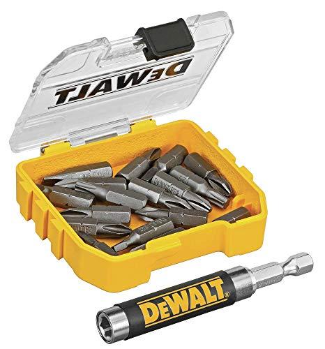 DEWALT DWAF2058CS 18 pc. Compact Magnetic Drive Guide Set, Yellow