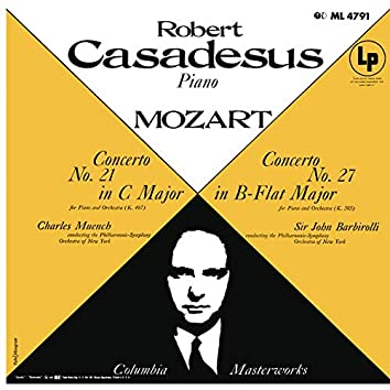 Mozart: Piano Concertos Nos. 21 & 27 (Remastered)