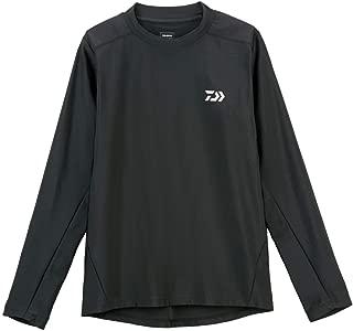 Daiwa Sale DE-6007 T Shirt Long Sleeve Quick Dry Black Size L 110389