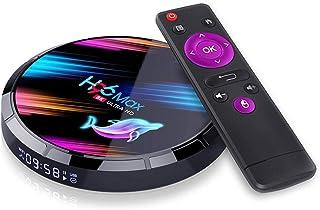 Umisu WiFi TV Box Wireless Smart Set Top Box 8K HD Graphics 1080P HDMI 2.1 USB3.0 WiFi 2.4G/5G BT Screen Projector 4K Medi...