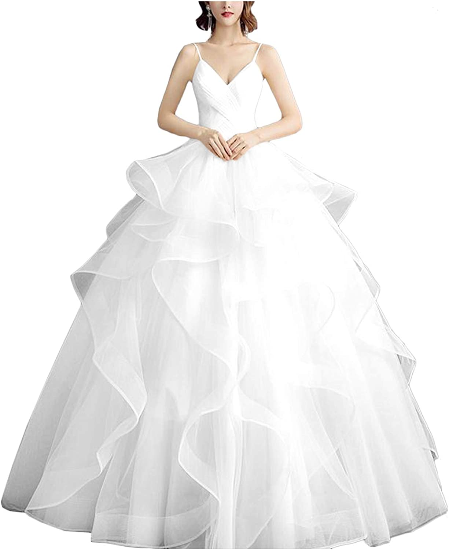 Amazon.com MllesReve Womens 20 Wedding Dress for Bride Floor ...