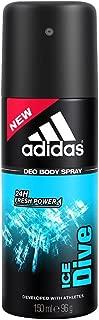 Adidas Ice Dive Deodorant Body Spray for Men, 150ml