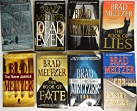 Brad Meltzer 8 Book Set : The Tenth Justice, Dead Even, The First Counsel, The Millionaires, The Zero Game, The Book of Fa...
