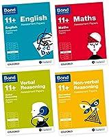 Bond 11+: English, Maths, Verbal Reasoning, Non-verbal Reasoning: Assessment Papers: 8-9 years Bundle