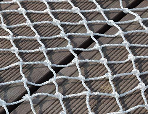 AQWFH Beschermend net Nylon Net, Trap Balkon Beschermend Netto Kinderbeveiliging Netto Binnendecoratie Netto Veiligheidshek Anti-val Netto Basketbal Netto Hond Netto Tafel Tennisnet, 3 * 3m