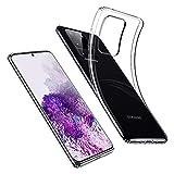 ESR Funda Slim para Samsung S20 Ultra/S20 Ultra 5G,[Funda Blanda de Silicona Flexible] Funda de TPU Blando Compatible con Samsung Galaxy S20 Ultra/S20 Ultra 5G, Transparente