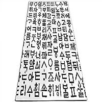 ヨガマット韓国オリジナル韓国キャラクタークリスマスと大晦日の家族や友人へのプレゼントに最適(70 x 24インチ)(61X180 cm)