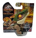 "Figurine JurassicWorld Snap Squad 2021 Camp Cretaceous [Baryonyx Grim] 2"" inch Chomper"