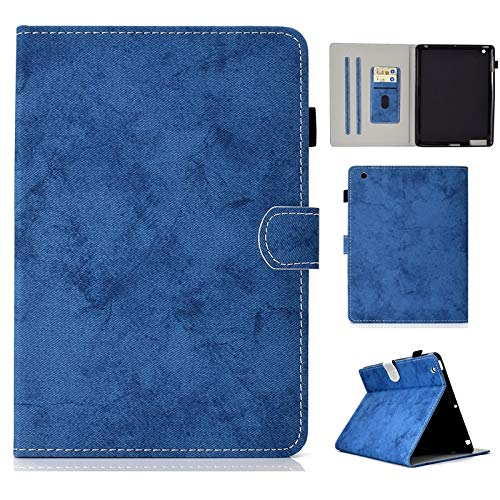 chenyuying PU Leather Tablet Stand Smart Case Cover with Auto Sleep/Wake for iPad 2nd/3rd/4th Generation (Color : Blue)